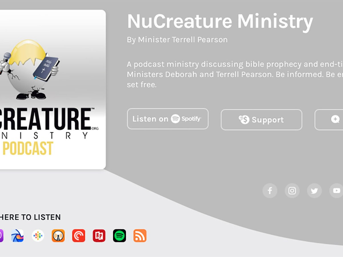 NuCreature Ministry Anchor Screenshot